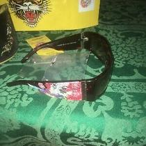Ed Hardy Sunglasses Beautiful Ghost Ehs 004 Authentic Photo