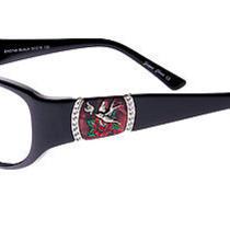 Ed Hardy Women's Eho-748 Bird Eyeglasses - Black Photo