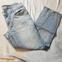 Eddie Bauer Boyfriend Slim Leg Light Wash Jeans Size 2 Photo