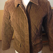 Eddie Bauer Classic Quilted Corduroy Barn Jacket Size Large Photo