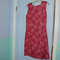 Eddie Bauer Floral Dress Size 12 Nice  Photo