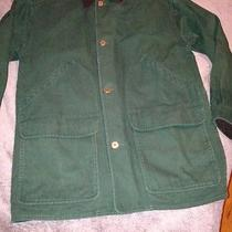 Eddie Bauer Green Men's Barn Field Farm Coat Jacket Size M Parka Hunting Photo
