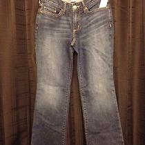 Eddie Bauer Jeans Jr. Size 2 Curvy Boot Cut 4 New With Tags Photo