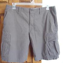 Eddie Bauer Man's Brown Shorts Size 36 Photo