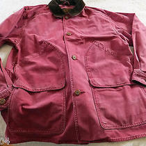Eddie Bauer Men's Barn Coat/jacket/parka in Scarlett Sz. Large Photo