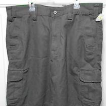 Eddie Bauer Outdoor Cargo Shorts Green Size 36 100% Cotton Photo