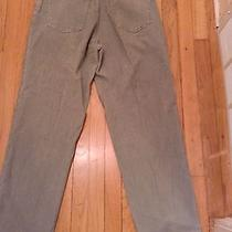 Eddie Bauer Outdoor Outfitter Gray Corduroy Pants Size 34x29  Euc Photo