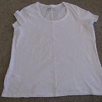 Eddie Bauer Outdoor White Cotton T-Shirt Lp Photo