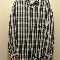 Eddie Bauer Relaxed Fit Dress Shirt 100% Cotton  Long Sleeve Button Shirt Sz L Photo
