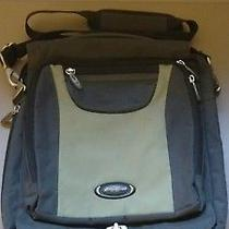Eddie Bauer Urban Travel Messenger Laptop Bag Adjustable Crossbody Shoulder Euc Photo