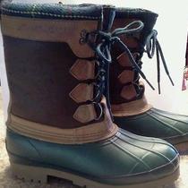 Eddie Bauer Waterproof Duck Boots Size 7m Photo