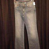 Eddie Bauer Woman's Jr. Size 4 Natural Fit Boot Cut Jeans  New With Tags Photo