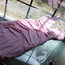 Edge Beautiful Slinky Blush Pastel Pink Bodycon Dress Size 6 Photo