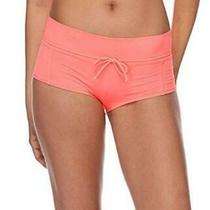Eidon Junior's Blaire Higher Rise Bikini Bottom Flavors Blush Size Large Dog8 Photo