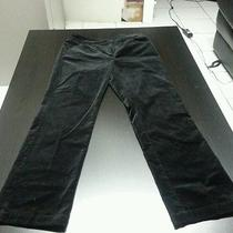 Eileen Fisher Black Cotton Stretch Pants Size Pp Straight (28wx29l) Euc Photo