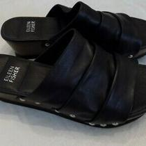 Eileen Fisher Black Sandals - Size 8 Photo