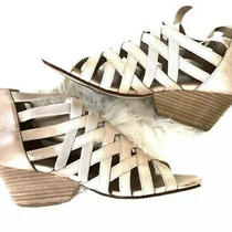 Eileen Fisher Lattice Caged Wedges Size 8.5 Excellent Condition Photo