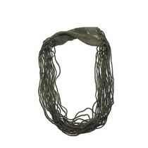 Eileen Fisher New Gold Knit Metallic Necklace Scarf O/s Bhfo Photo