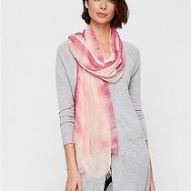 Eileen Fisher Nwt Modal Breeze Print W/dots Scarf Cerse 78