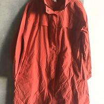 Eileen Fisher Red Long Jacket Size Small Photo