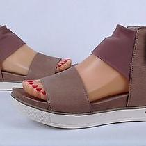 Eileen Fisher 'Spree Sport' Platform Sandal- Quartz Grey- Size 6 M  (P20) Photo