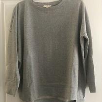 Eileen Fisher Sweatshirt Tunic Top Grey New Size Xs Photo