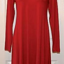 Eileen Fisher Viscose Jersey Scoop Neck K/l Dress