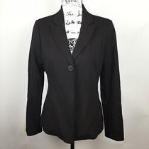 Eileen Fisher Viscose Rayon Spandex Brown Blazer Jacket Size Small Photo