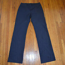 Eileen Fisher Womens Pull-on Straight Leg Essentials Pants Black Size Xs Photo