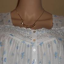 Eileen West Nightgown  100% Cotton Lawn  Flower Print  Xlarge Ballet Gown Photo
