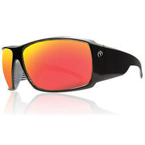 Electric D. Payne Sunglasses Black Line Grey Fire Chrome New Photo