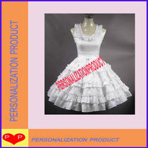 Elegant Sweet Lolita Southern Belle Fancy Bow Lace Ball Gown White Cosplay Dre Photo