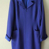 Elegant Violet Coat/dress by Kay Unger Petites. Photo