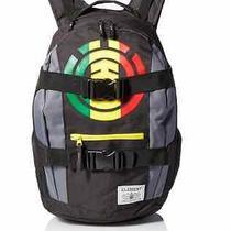 Element Backpack Bag Men's Laptop Skateboard Skate Strap Mohave Back Pack Rasta Photo