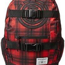 Element Backpack Bag Men's Laptop Skateboard Skate Strap Mohave Back Pack Red Photo