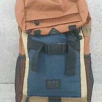 Element Backpack Luc Brown Beige Navy Mens Photo