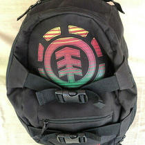 Element Backpack Mohave Camp Collection Jamaica Flag Rasta Skateboard Photo