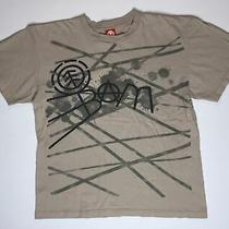 Element Bam Early 2000s T-Shirt Mens Skate Tee Tan Fits Pre-Shrunk Large Photo