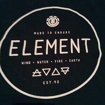Element Black  T Shirt Mens Size Medium M