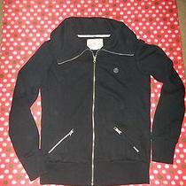 Element Black Zipper Jacket Size Large L Photo