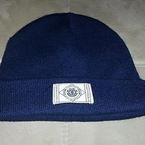 Element Blue and White Logo Blue Beanie Hat  Photo
