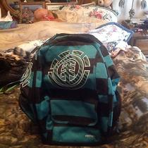 Element Book Bag Blue and Blake Stripped Photo