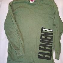 Element Boys Long Sleeve Green Shirt Size M Wind Fire Water Earth Child Fall  Photo