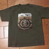 Element Boys Medium Zeppelin Oliive Green Tee Photo