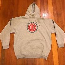 Element Brand Hoody Sweatshirt Gray Mens Xl Photo