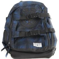 Element Camp Collection Men's Backpack Blue Plaid Photo