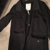 Element Charcoal Gray Cotton Jacket- Juniors Medium Photo