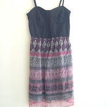 Element Corset Dress With Geometric Pattern Size M  Photo