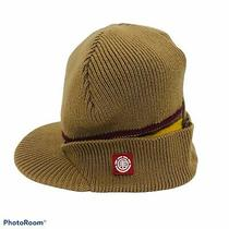 Element Crowns Beige Maroon Beanie Skully Jeep Hat Cap Unisex Photo