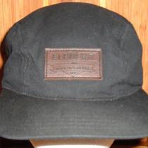 Element Crowns  Military / Camper Style Cap / Hat Adjustable Black 100% Cotton Photo